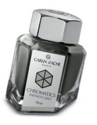 Caran d'Ache Chromatics INKredible Colors - Infinite Grey (50ml)