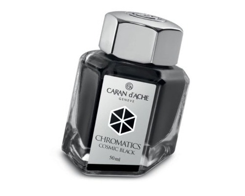 Caran d'Ache Chromatics INKredible Colors - Cosmic Black (50ml)