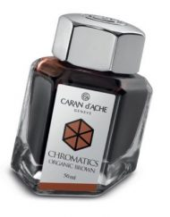 Caran d'Ache Chromatics INKredible Colors - Organic Brown (50ml)