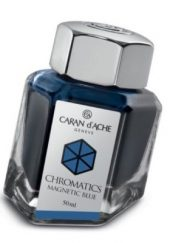 Caran d'Ache Chromatics INKredible Colors - Magnetic Blue (50ml)