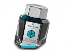 Caran d'Ache Chromatics INKredible Colors - Hypnotic Turquoise (50ml)