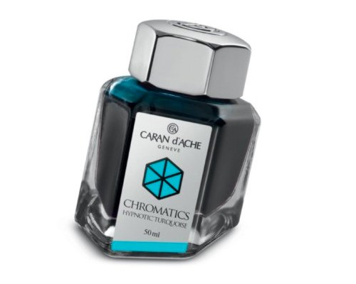 Caran d'Ache Chromatics INKredible Colors - Hypnotic Turquoise (50ml)