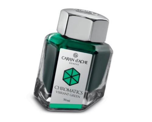 Caran d'Ache Chromatics INKredible Colors - Vibrant Green (50ml)