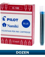 Pilot Blue Fountain Pen Ink Cartridges IC-100 Item 69101