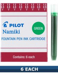 Pilot Green Fountain Pen Ink Cartridges IC-50 Item 69003