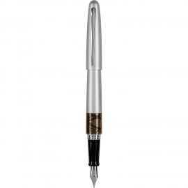 Pilot MR Silver Python Fountain Pen
