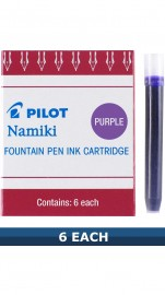 Pilot Purple Fountain Pen Ink Cartridges IC-50 Item 69004