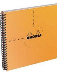 Rhodia Orange Reverse Book