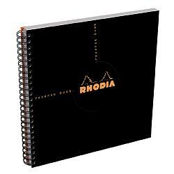 Rhodia Black Reverse Book
