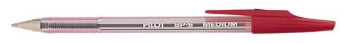 Pilot Better BallPoint Pen BP-S Medium Red