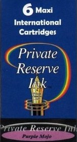 Private Reserve Ink Long Cartridges 6-pack Purple Mojo