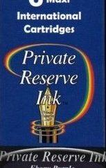 Private Reserve Ink Long Cartridges 6-pack Ebony Purple