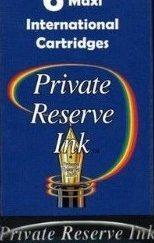 Private Reserve Ink Long Cartridges 6-pack Ebony Blue