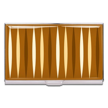 acme business card case cafe creme - Business Card Cases