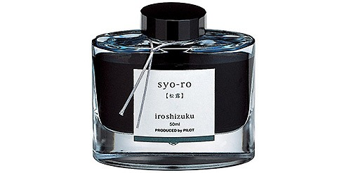 Pilot Iroshizuku Bottled Fountain Pen Ink Syo-Ro (Dew on Pine Tree)