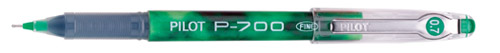 pilot precise p-700 green