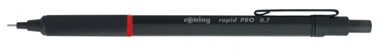 Rotring Rapid PRO Black Pencil 0.7mm