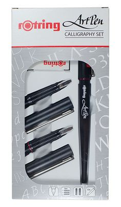 Rotring Art Pen Calligraphy Set