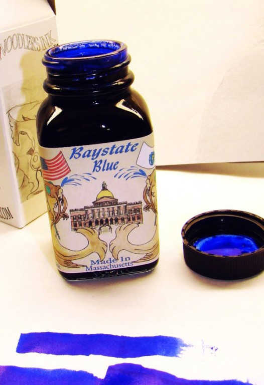 Noodlers Ink Baystate Blue