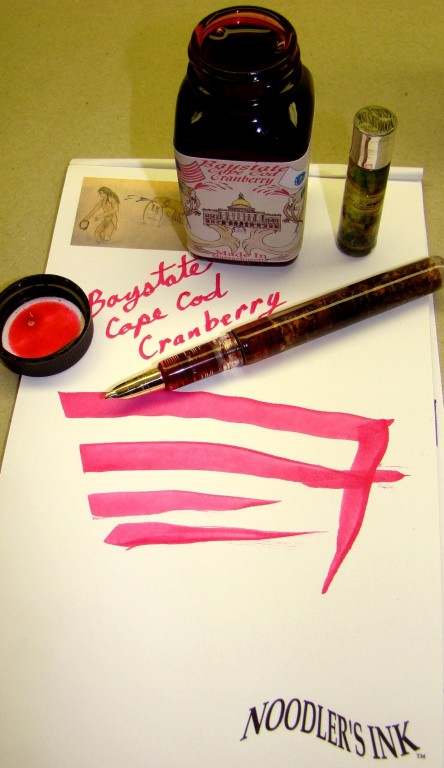 Noodlers Ink Baystate Cape Cod Cranberry