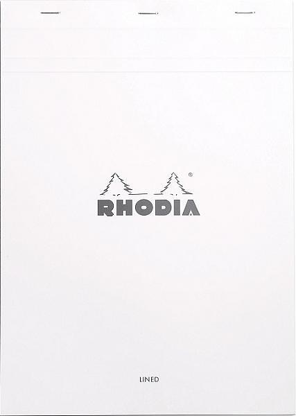 rhodia ice notepad top staplebound 8 1/4 x 11 3/4