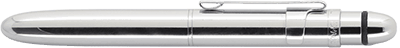 Fisher Space Pen Chrome Grip Bullet Space Pen w/Clip BGCCL