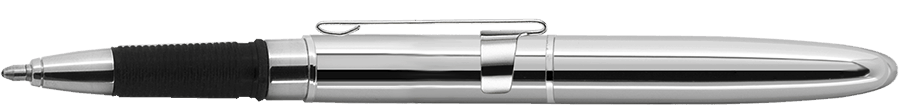 Fisher Space Pen Chrome Bullet Grip Space Pen with Clip & Stylus BGCCL/S