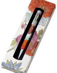 Metropolitan Museum of Art Meissen Floral Ball Pen