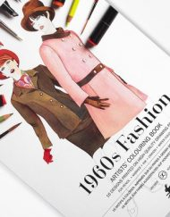 Pepin Artists' Colouring Book-1960's Fashion