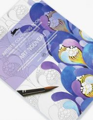 Pepin Artists' Colouring Book-Art Nouveau