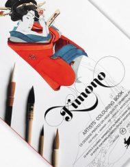 Pepin Artists' Colouring Book-Kimono