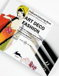 Pepin Artists' Postcard Colouring Book-Art Deco Fashion