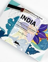Pepin Artists' Postcard Colouring Book-India