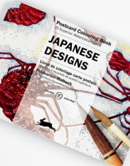 Pepin Artists' Postcard Colouring Book-Japanese Designs