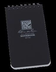 Rite in the Rain Midnight Top Spiral Pocket Notebook