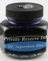 Private Reserve Ink DC SuperShow Blue 110ml Bottle