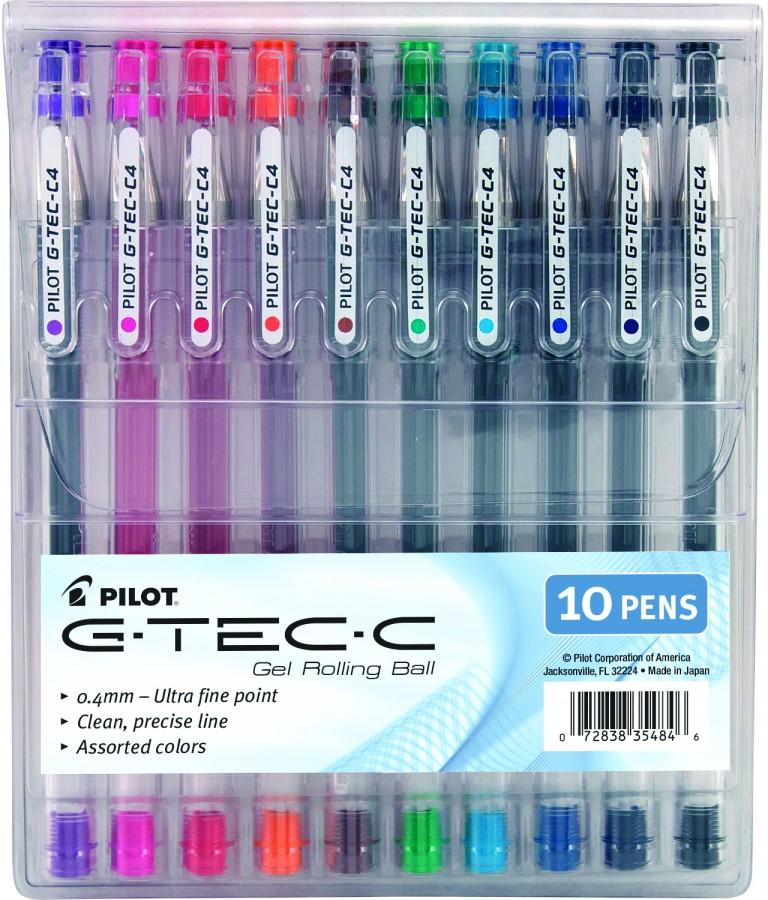 Pilot G-Tec-C 10-pack Pouch