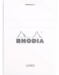 Rhodia Ice 3x4 notepad 11601W