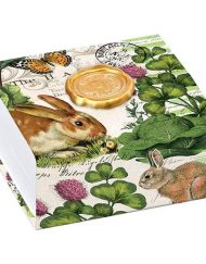 Garden Bunny Noteblox-Michel Design Works NB250