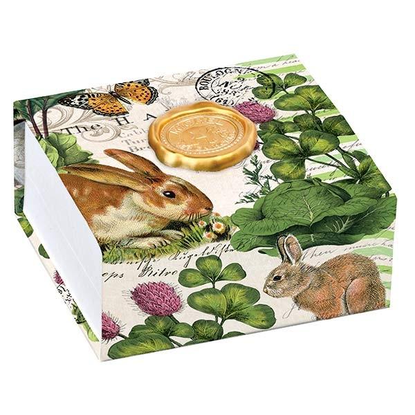 Garden Bunny Noteblox-Michel Design Works NB250