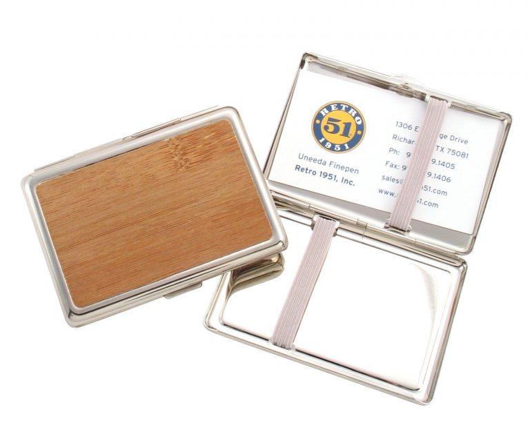 Retro 51 Bamboo Card Case CC-821