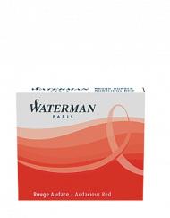 Waterman Ink Cartridges Audacious Red