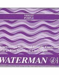 Waterman Ink Cartridges Purple