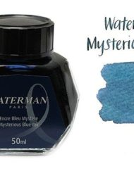 Waterman Fountain Pen Ink Mysterious Blue 50ml Bottle