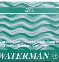 Waterman Ink Cartridges Green