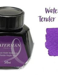 Waterman Fountain Pen Ink Tender Purple 50ml Bottle