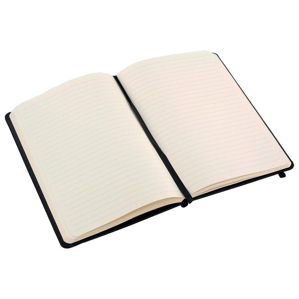 Rhodia Webnotebook Lined Black 118609