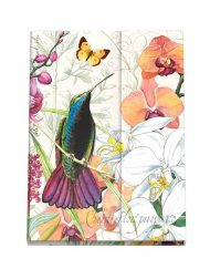 Orchids in Bloom Large Sticky Note Folio NPFL278-Michel Design Works