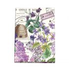Lilac and Violets Large Sticky Note Folio NPFL286-Michel Design Works