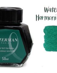 Waterman Fountain Pen Ink Harmonious Green 50ml Bottle